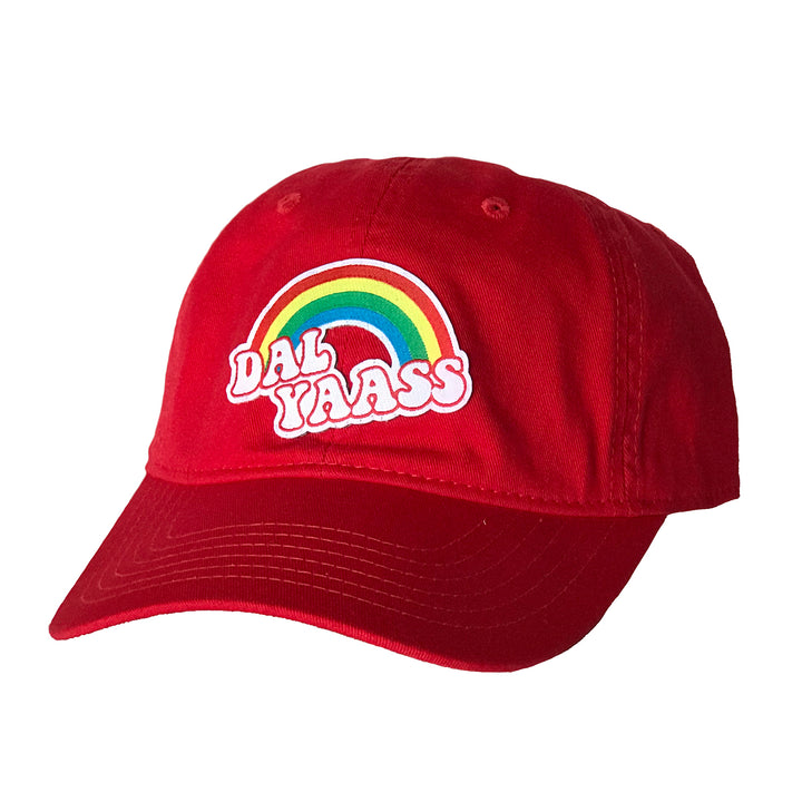 Red hat that says Dal Yass from Bullzerk