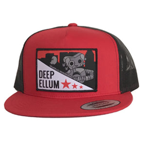 Deep Ellum Patched Flat Bill Hat