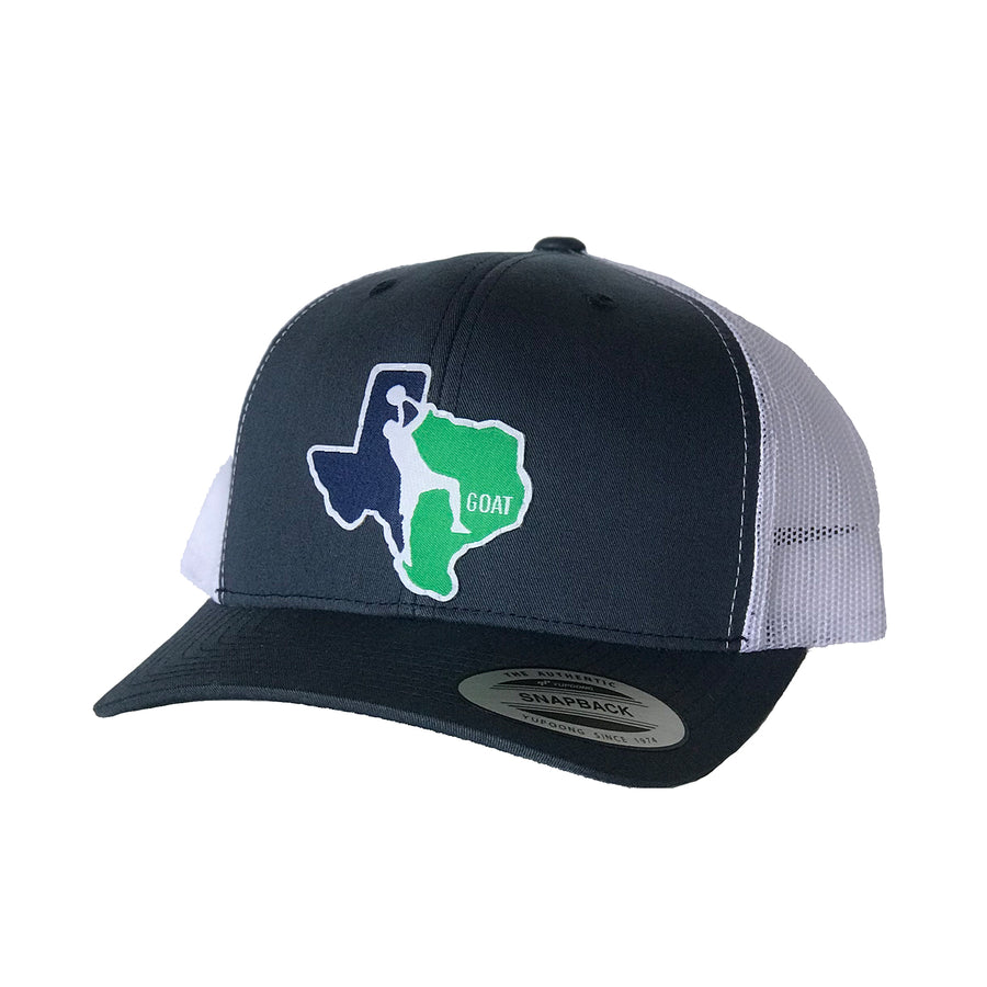 GOAT Patched Curved Bill Hat
