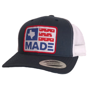 Texas Made Patched Curved Bill Hat