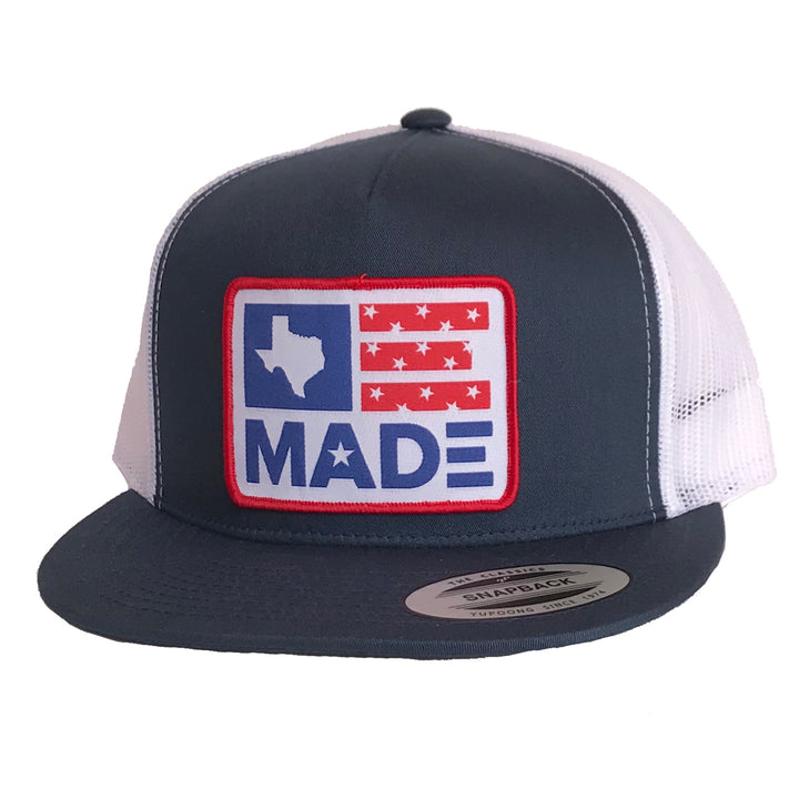 Texas Made Patched Flat Bill Hat