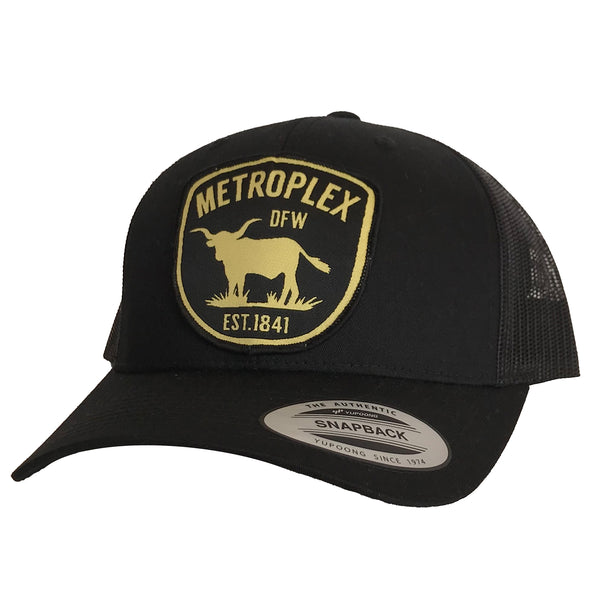 Metroplex Patched Curved Bill Hat