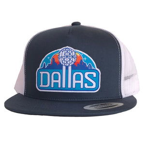 Reunion Patched Flat Bill Hat