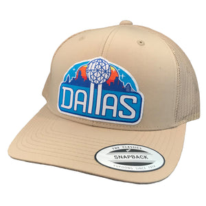 Reunion Patched Curved Bill Hat