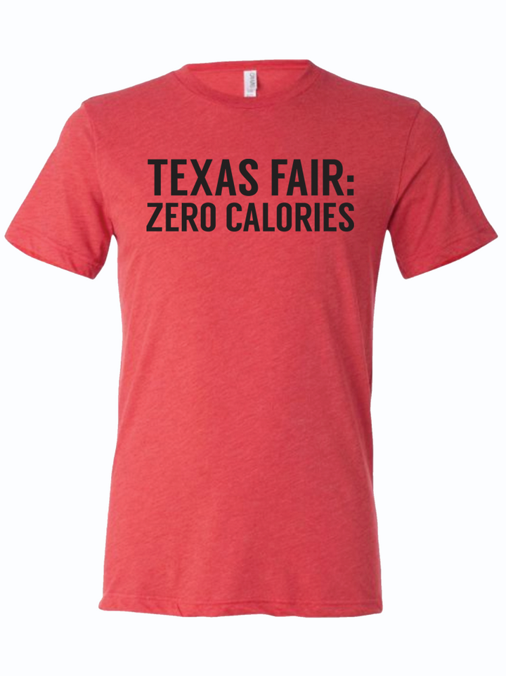 Texas Fair: Zero Calories