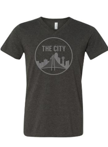 The City V-Neck - Bullzerk