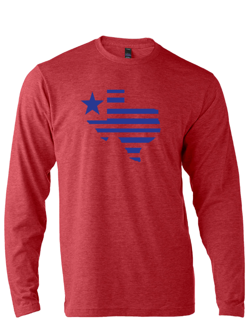 Texas Silhouette Long Sleeve - Bullzerk