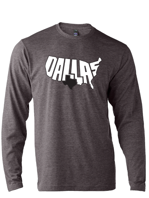 Patriotic Dallas Long Sleeve - Bullzerk