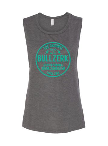 Women's Bullzerk Local Custom Muscle Tank