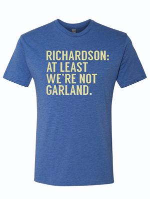 Richardson: At Least We're Not Garland