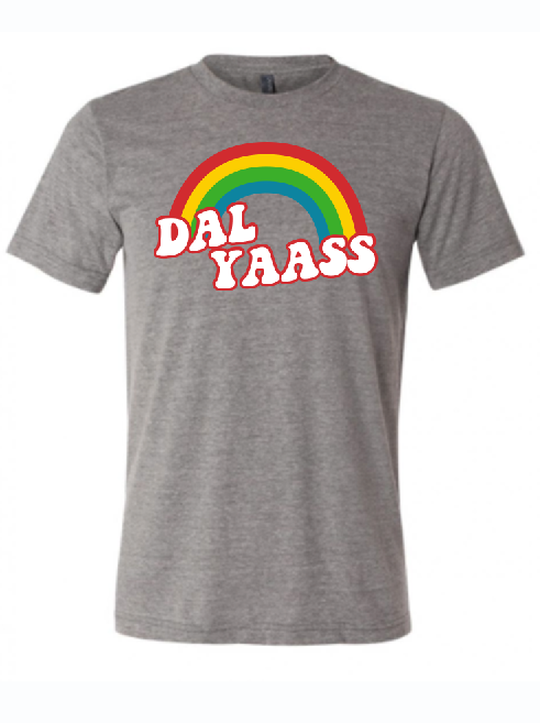 Dal Yass shirt supporting pride in Dallas Texas