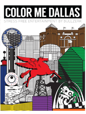 Color Me Dallas coloring book