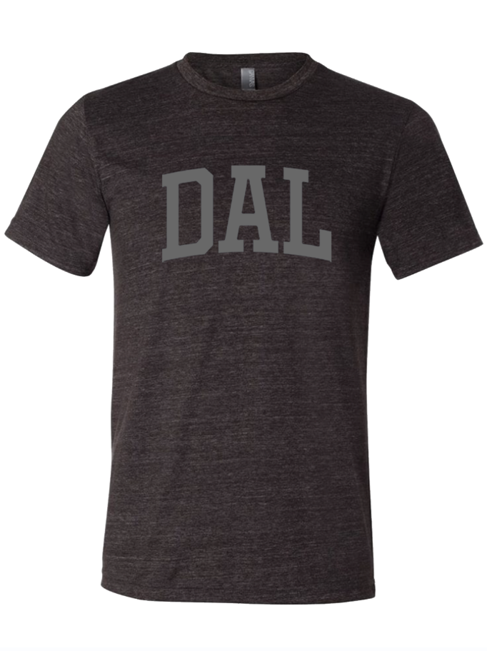 DAL charcoal shirt from Bullzerk in Dallas Texas
