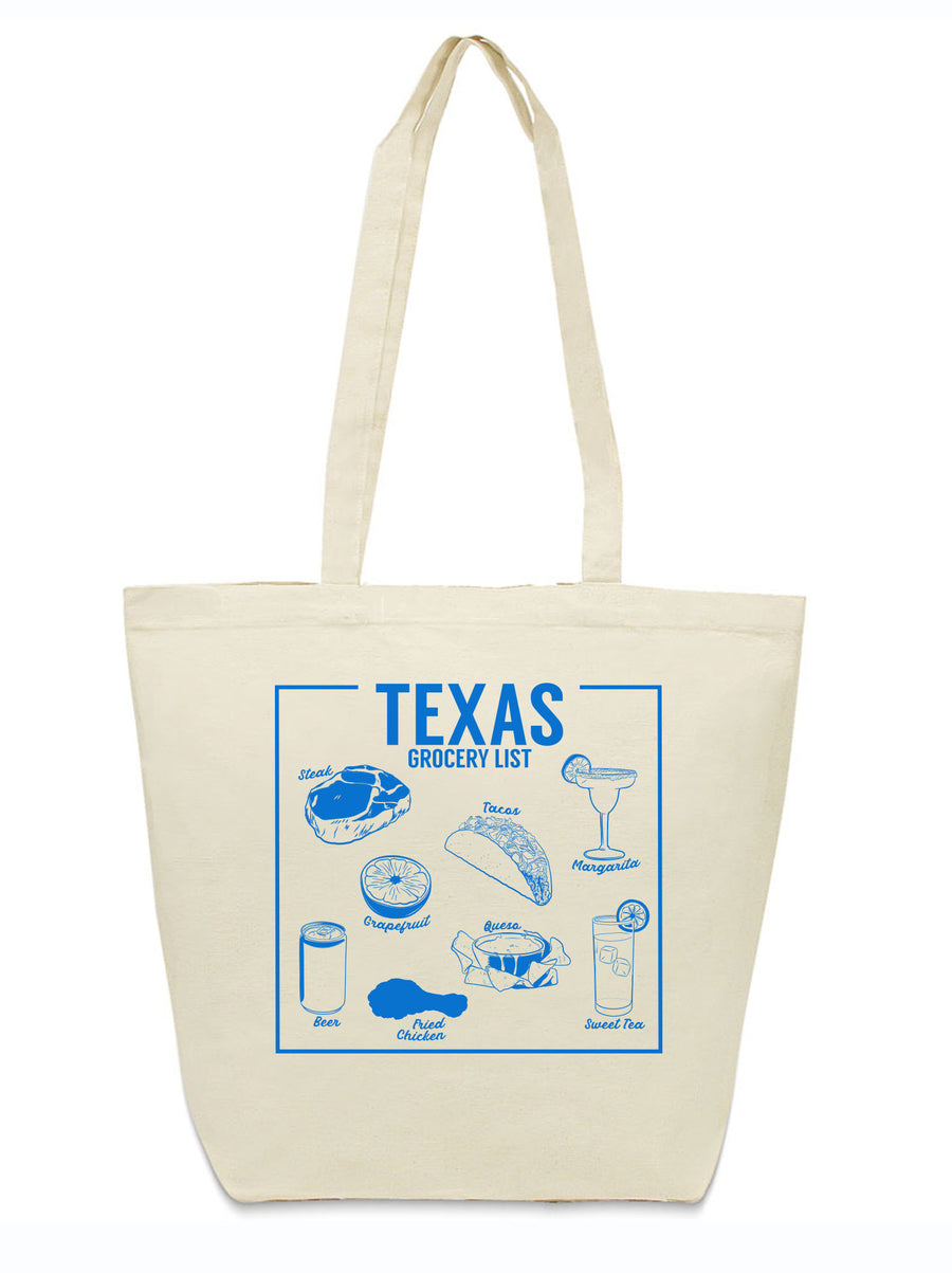 Dallas Texas tote bag meat market