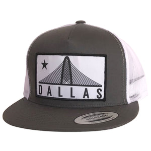 Trinity Dallas Patched Flat Bill Hat