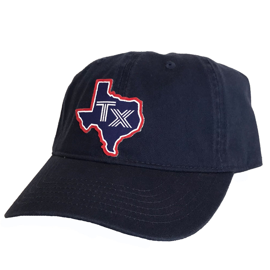 TX Silhouette Patched Cotton Hat