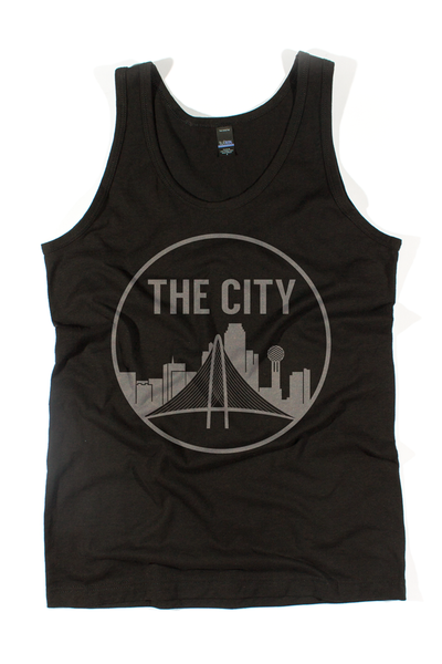 "Men's ""The City"" tank top - Bullzerk"