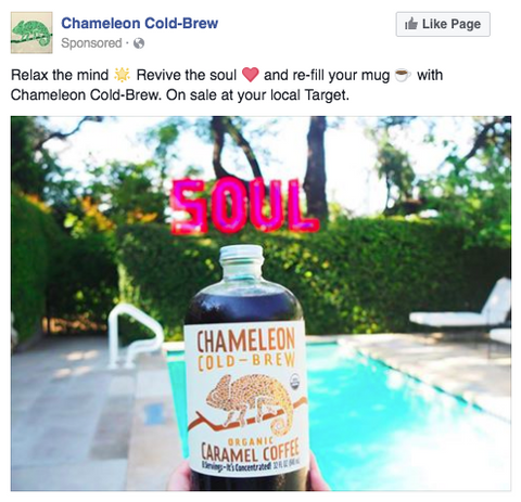 Chameleon cold Brew Ads