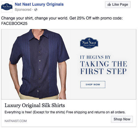 Nat Nast Facebook Ads