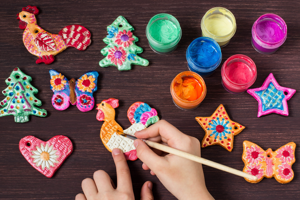 Fun #DIY Salt Dough Crafts To Make For Mom
