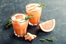 grapefruit manuha honey margaritas