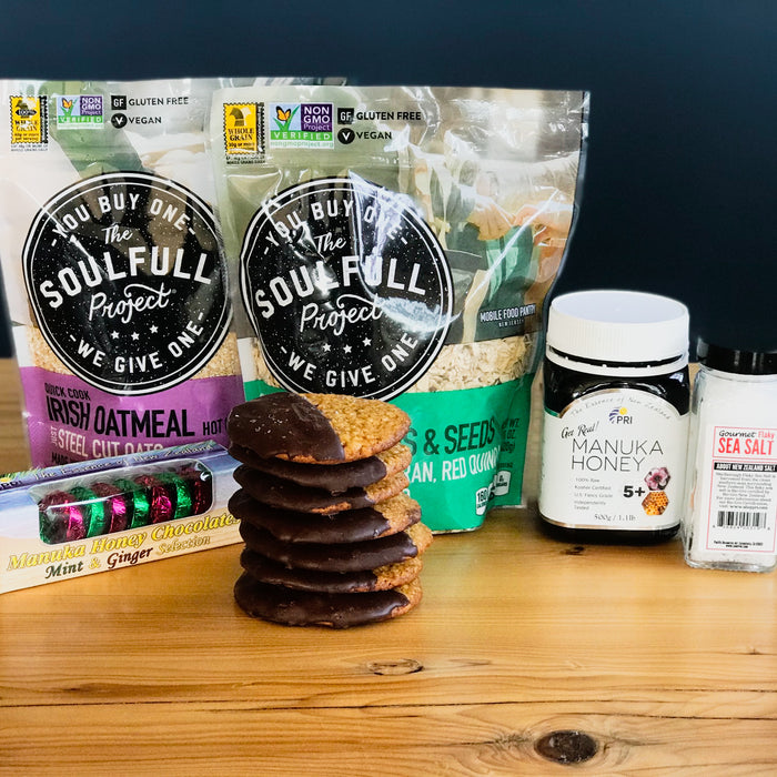 Soulfull Project X Shop Pri Oatmeal Honey Lacy Cookies