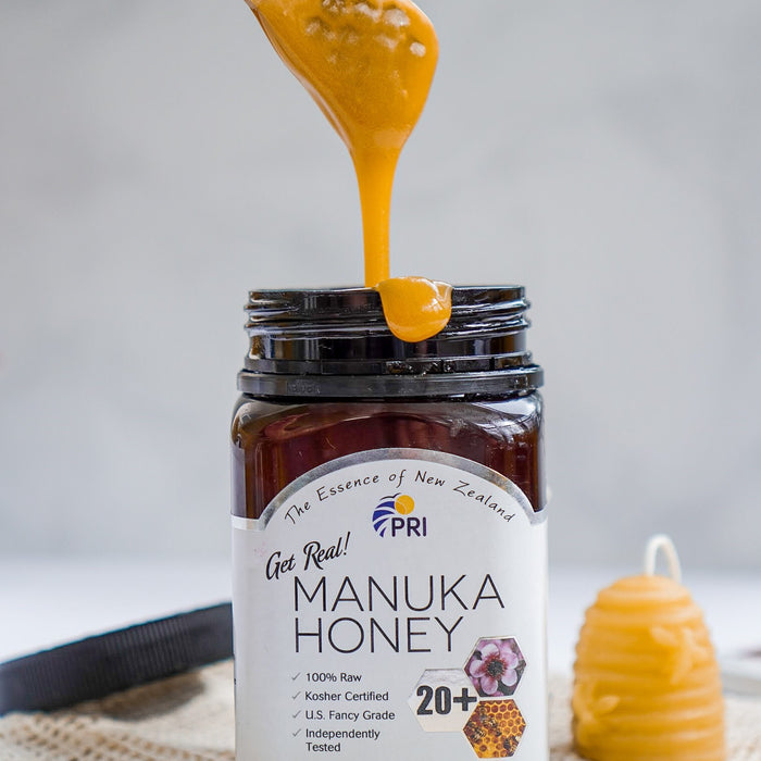 Manuka Honey Tapping for Clear, Glowing Skin