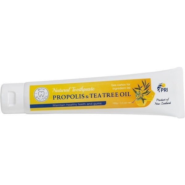 PRI Propolis & Tea Tree Toothpaste (now with Xylitol)