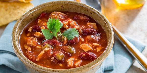 vegetarian chili with manuka honey