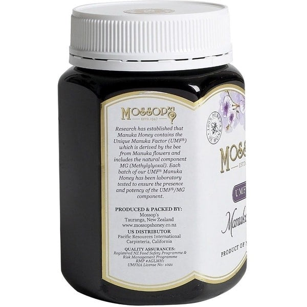 Mossop's Manuka Honey UMF 15+ 500g