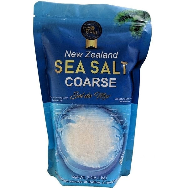 Coarse New Zealand Sea Salt From PRI