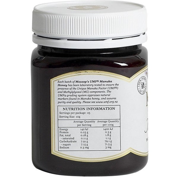 Manuka Honey - Mossops Manuka Honey UMF® 10+ 250g