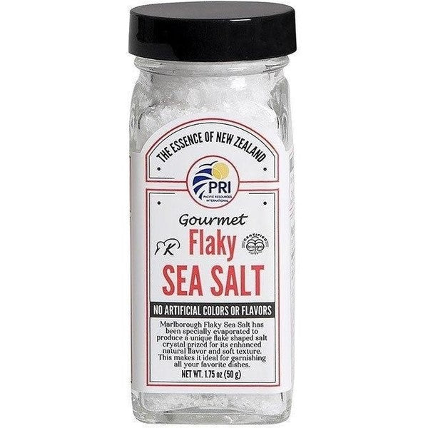 Pacific Sea Salt - Bio Gro Certified Pacific Sea Salt Gourmet Flaky Salt 1.75oz