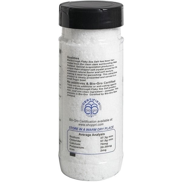 Pacific Sea Salt - BioGro Certified Pacific Sea Salt Flaky From PRI