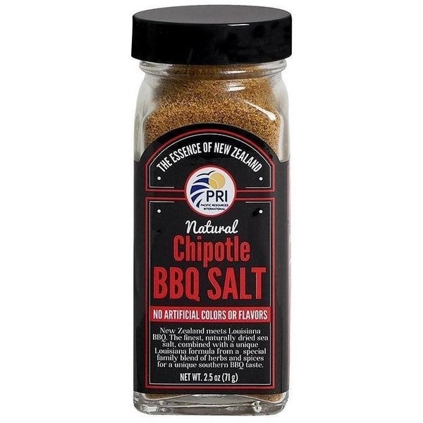 Pacific Sea Salt - Chipotle BBQ Salt 2.5oz