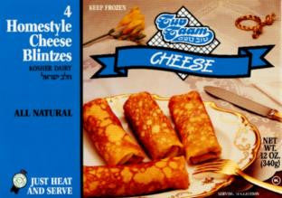 T.T. Cheese Blintzes