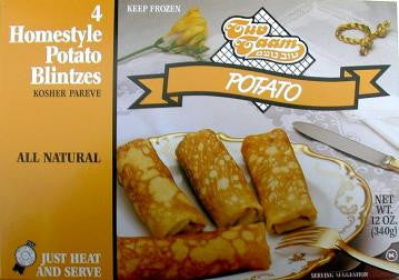 T.T. Potato Blintzes