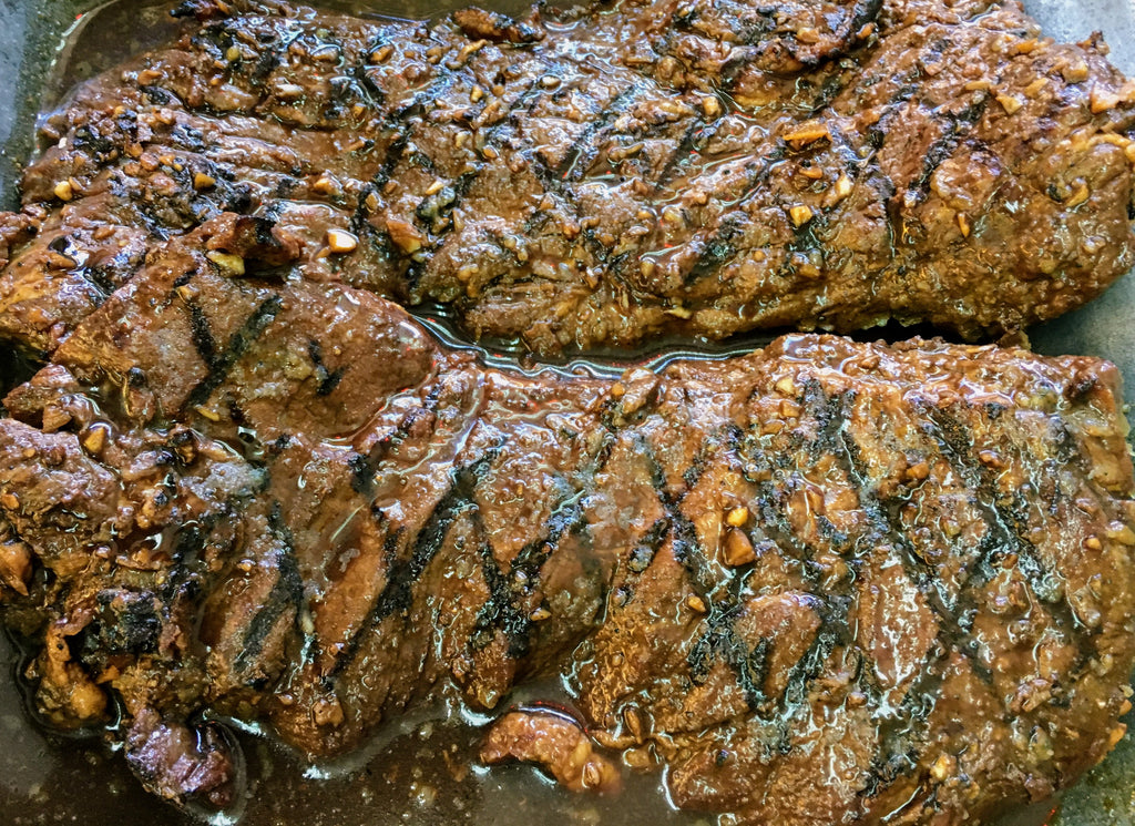 Grilled London Broil: $34.98/lb