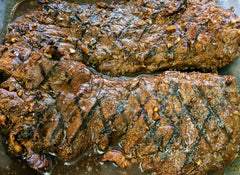 Grilled London Broil: $29.98/lb