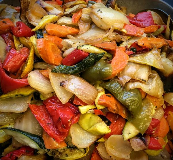 Roasted Vegetables: $10.98/lb