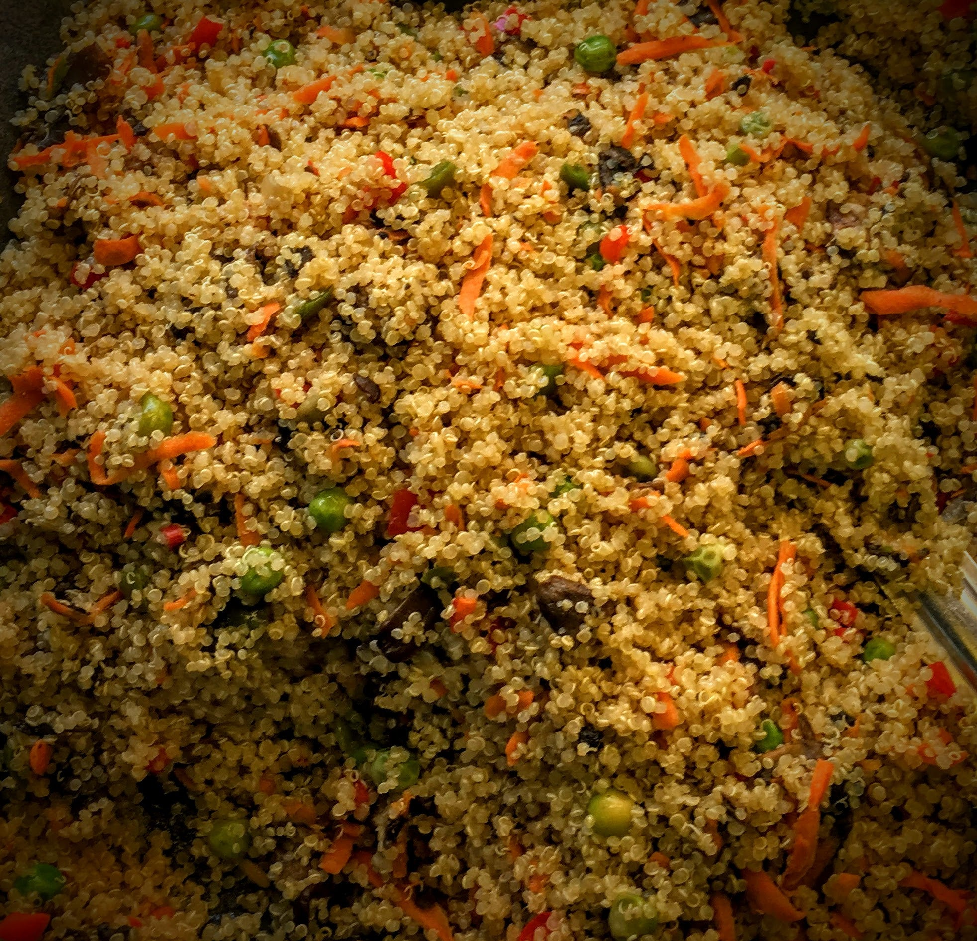 Quinoa w/ Vegetables: $11.98/lb