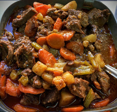 Beef Stew, cooked
