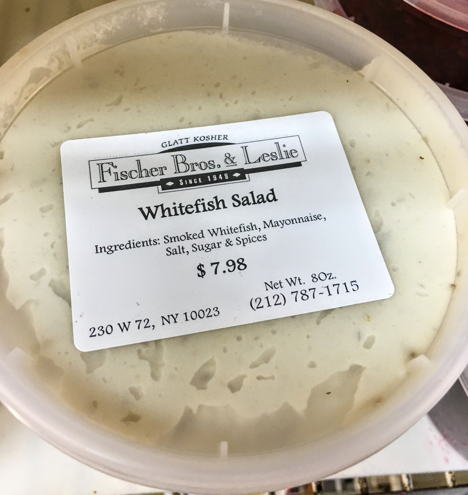Image result for whitefish salad