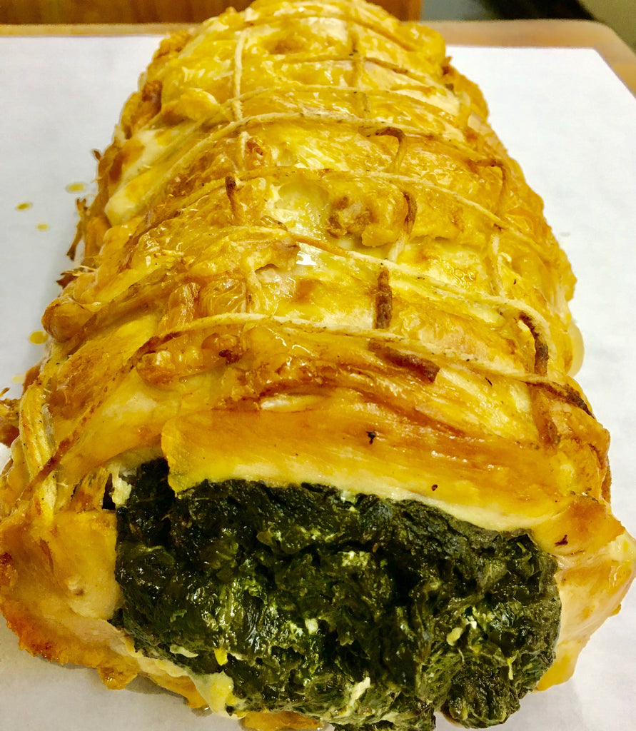 Kosher Chicken Florentine Sliced