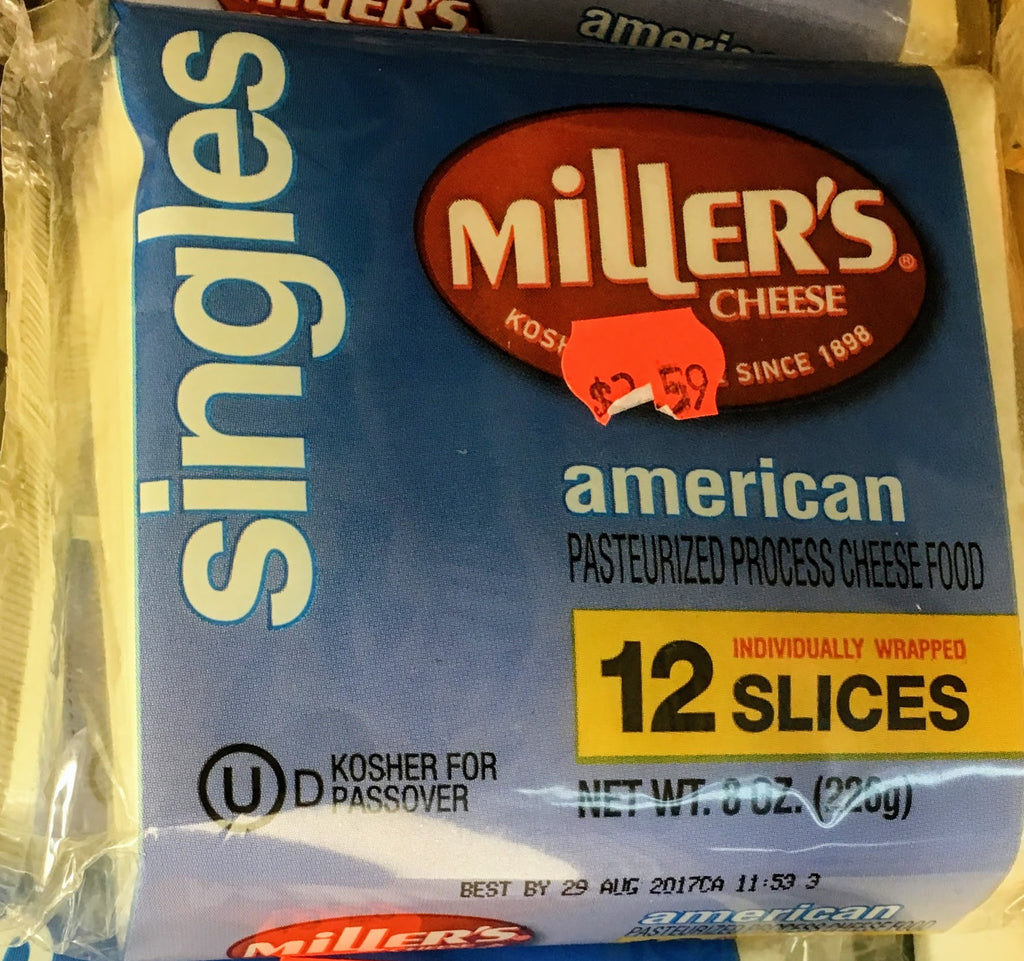 Miller Low Fat Amer. Cheese