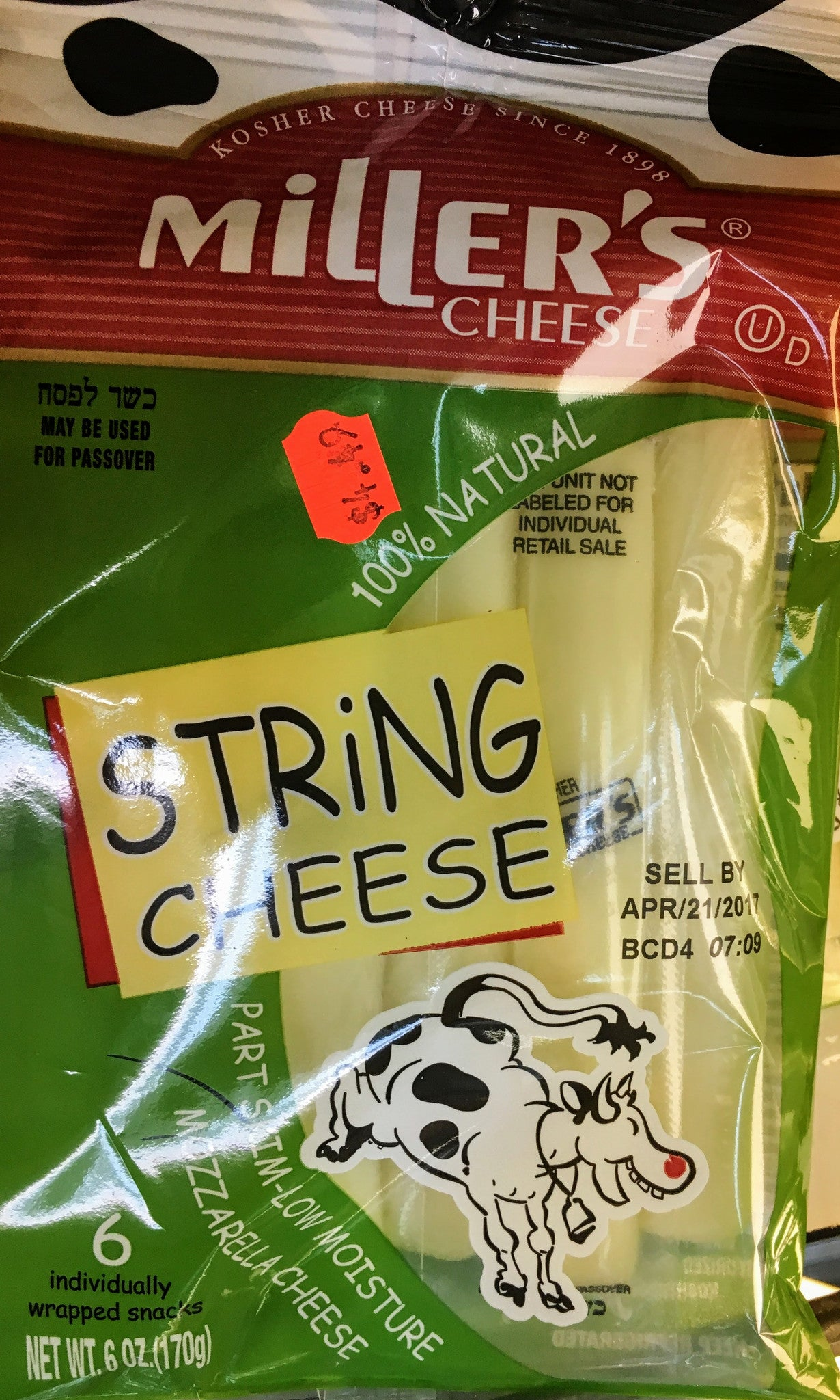 Miller String Cheese