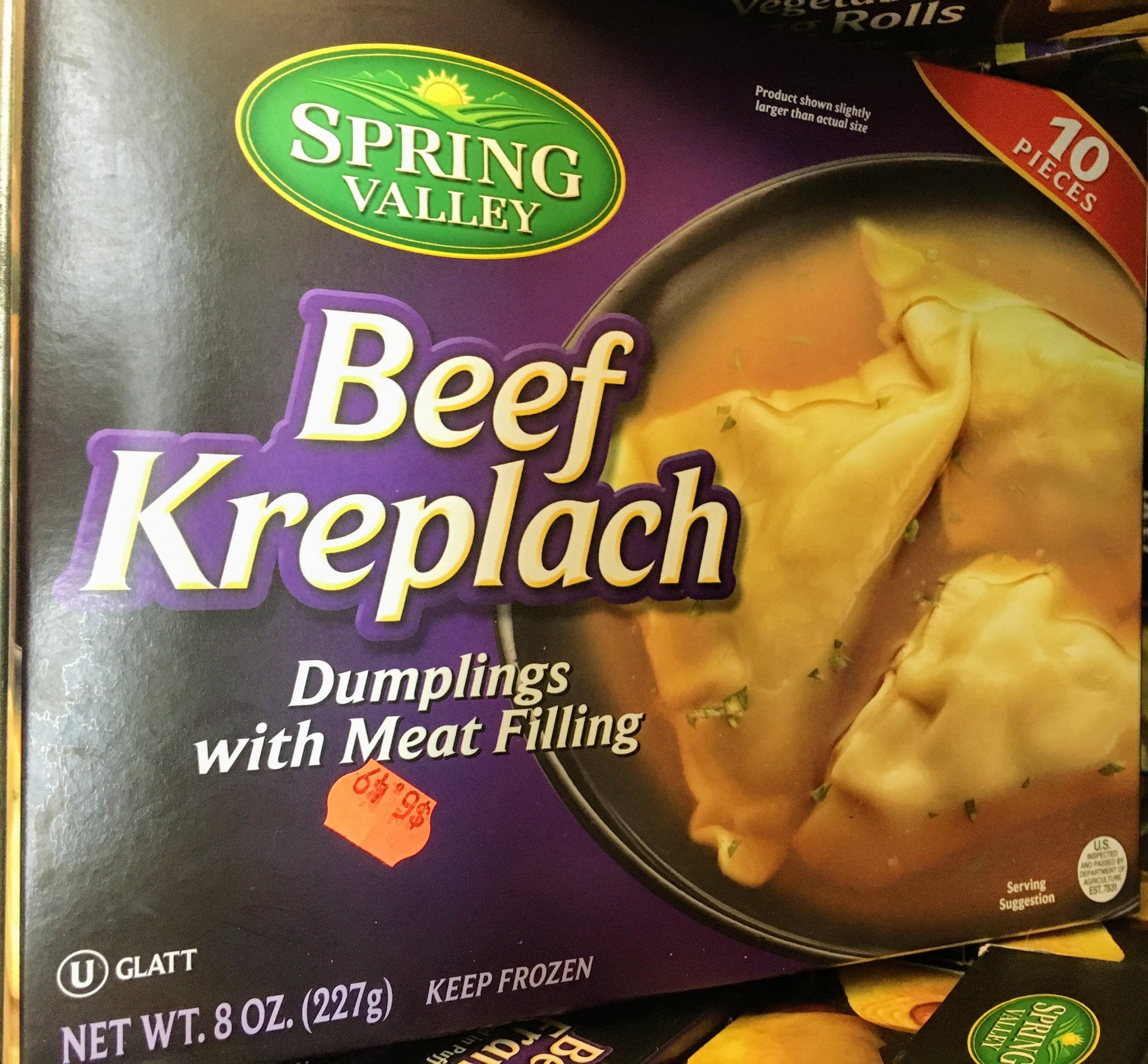 Spring Valley Beef Kreplach