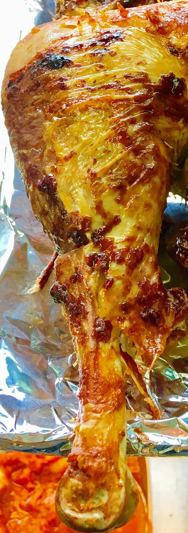 BBQ Kosher Turkey Drumstick