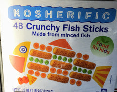 Kosherific Crunch Fish Sticks