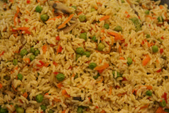 Rice w/ Vegetables: $6.98/lb